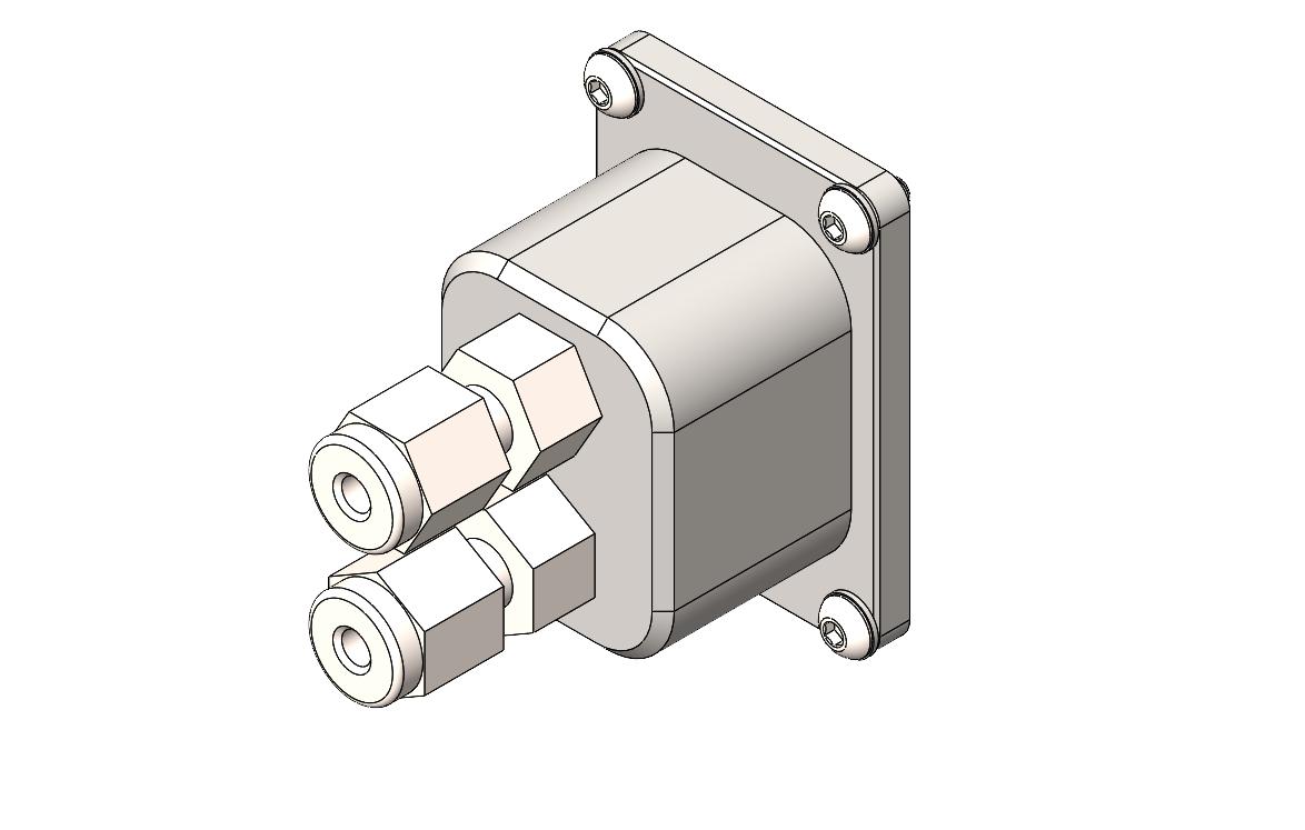 Dual Fiber - compression fitting