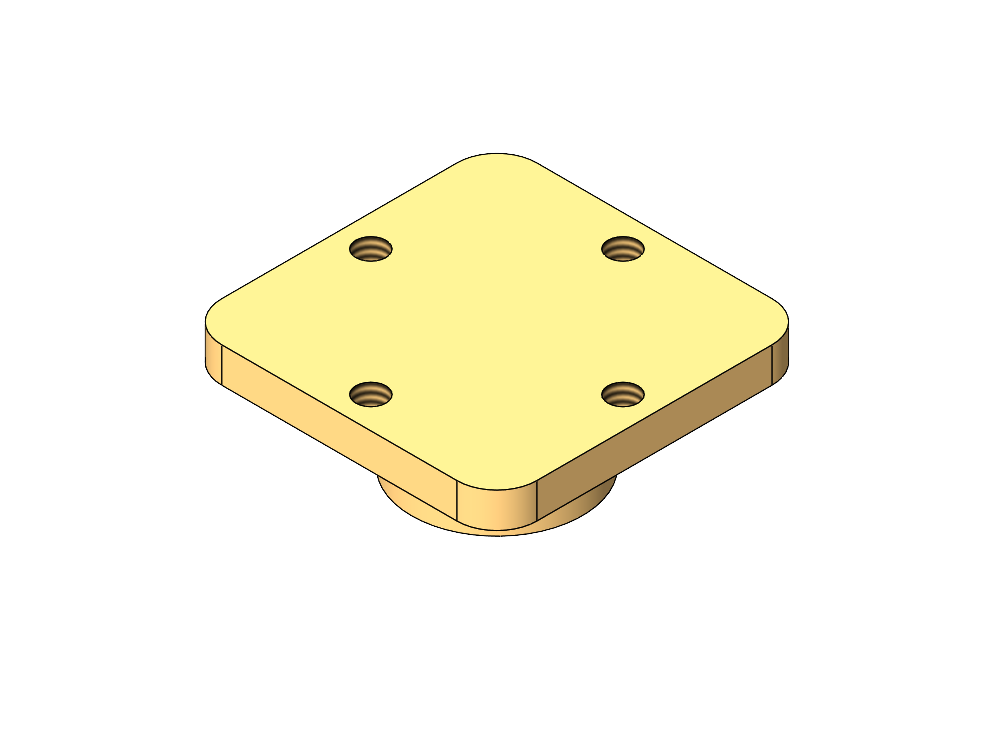 Flat Plate Sample Mount