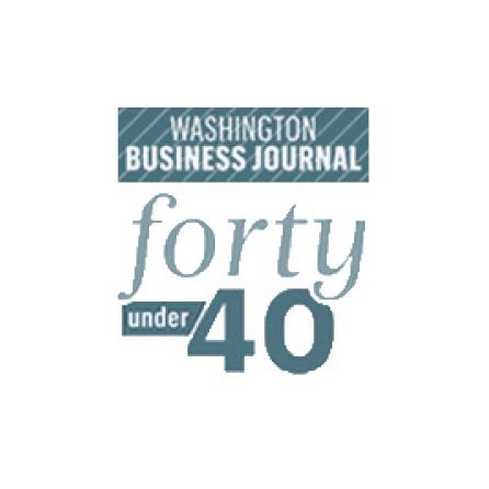 Washington Business Journal Forty under 40