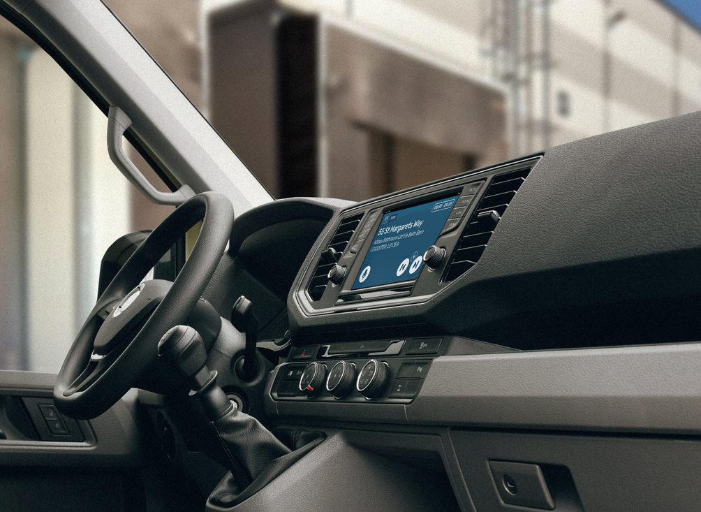 Parcel Assistant embedded in Volkswagen