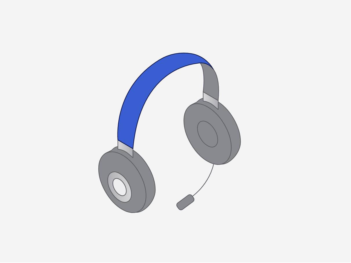 Logistics dispatch headset