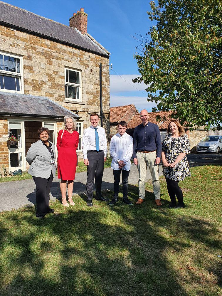 Ministerial Visit to Bracken Lodge- 23rd September