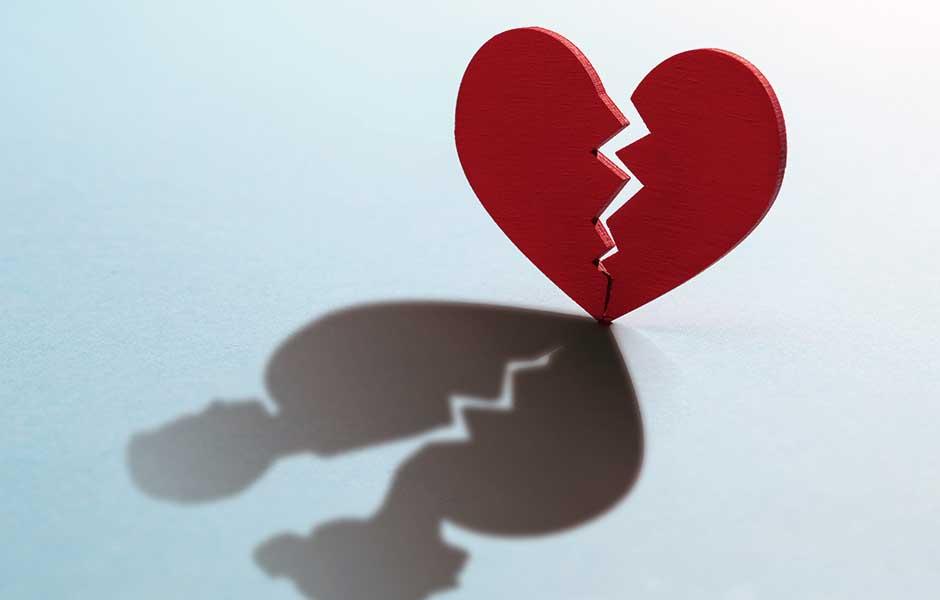 Sprukket hjerte