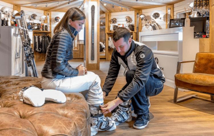 Hotel avec ski shop à Megève - Fermes de Marie