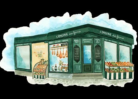 L'épicerie des Fermes Megève