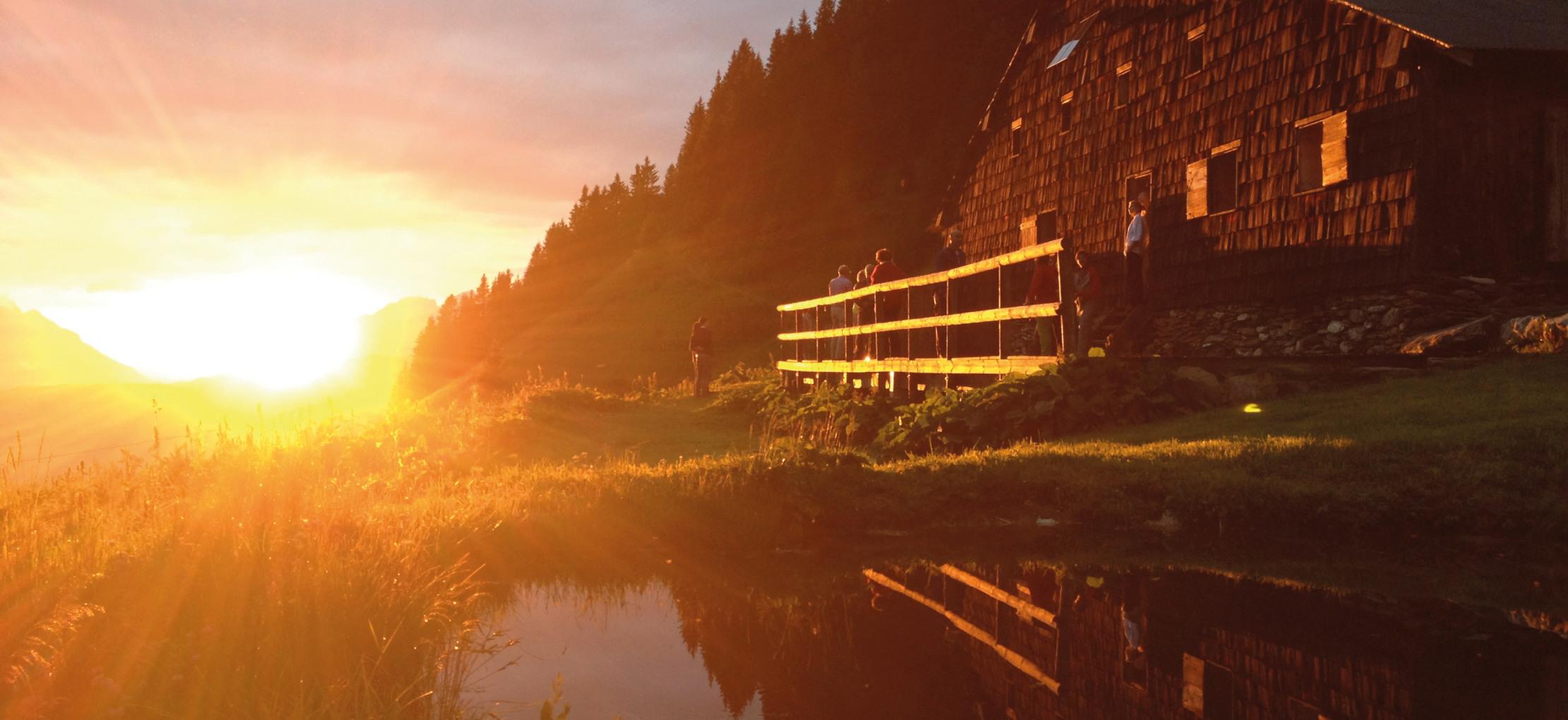Autumn yoga retreat in Megève
