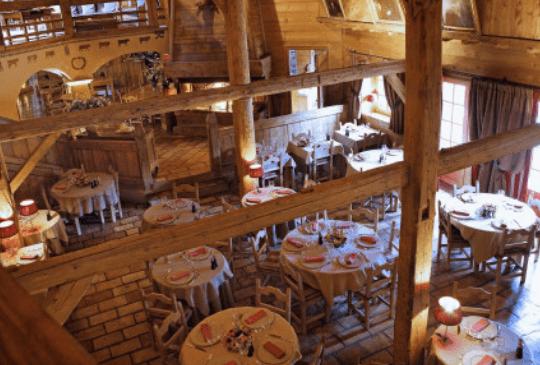 Restaurant cuisine traditionnelle à Megève - Les Fermes de Marie