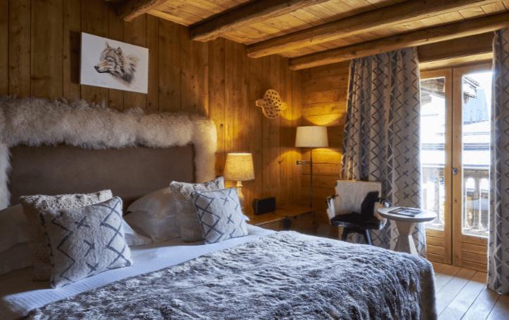 Cosy rooms in Megève Fermes de Marie hotel