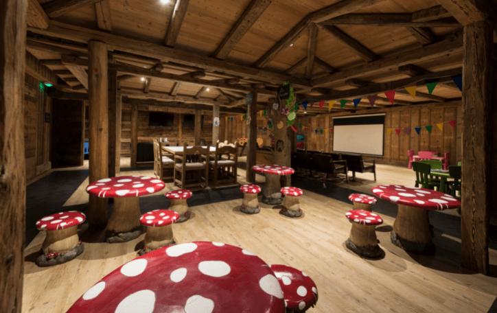 Hotel with Kids's club in Megève - Les Fermes de Marie