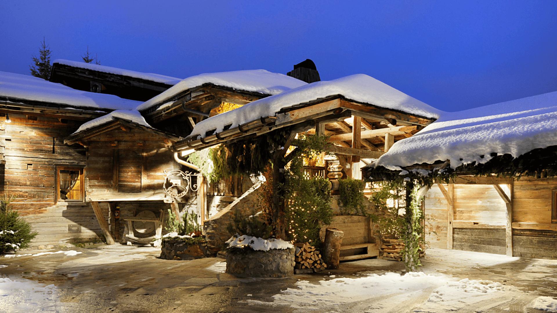 Hôtel 5 etoiles Megève - Les fermes de Marie