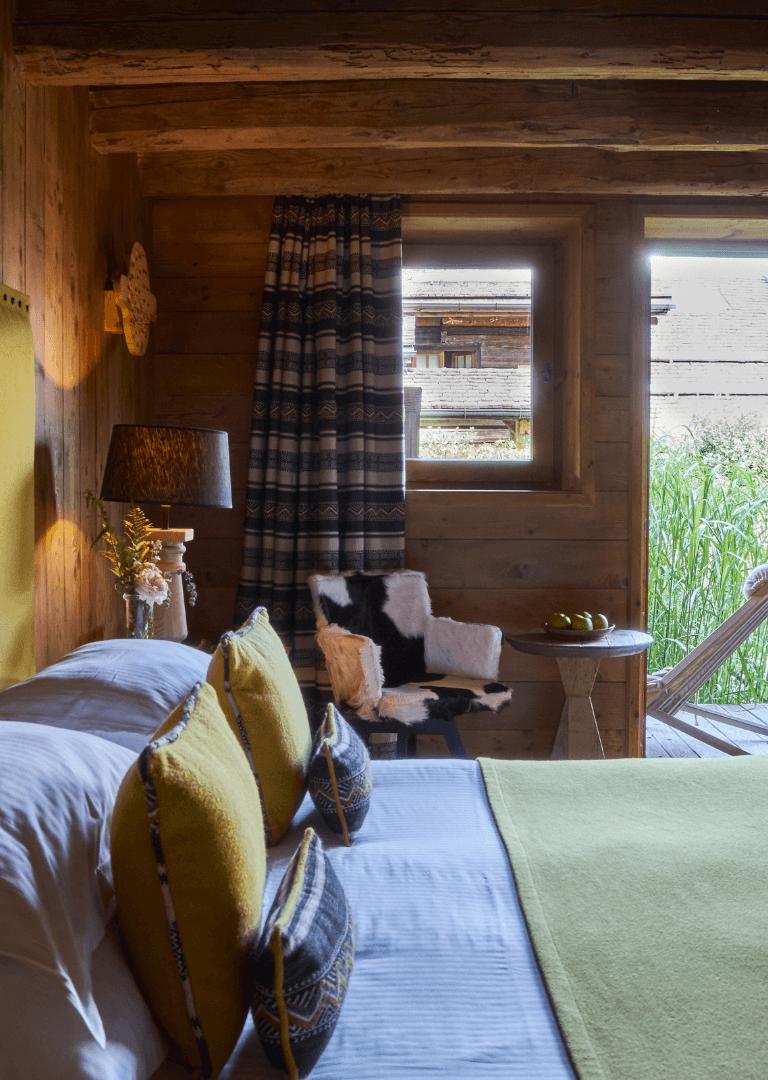 Rooms & suites Hotel Megève - Les Fermes de Marie