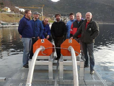 Bilde av ansatte fra Marine Construction