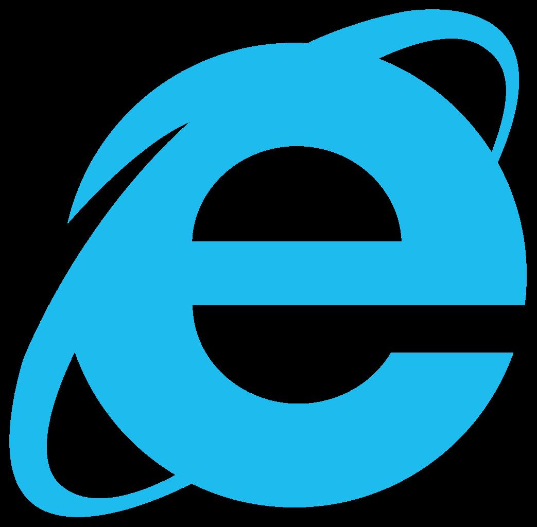 The Internet Explorer icon.
