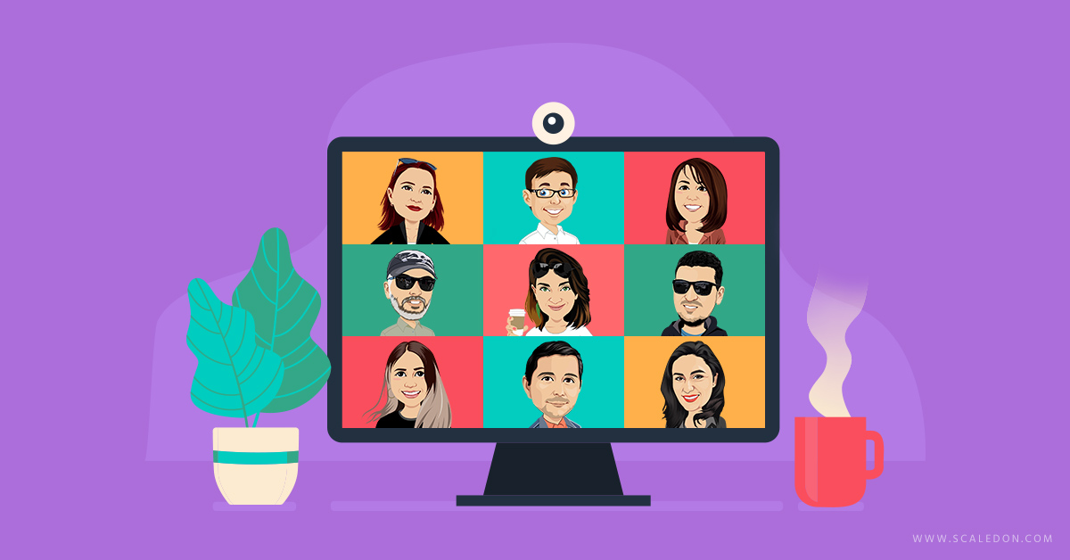 Work-from-Home Video Call