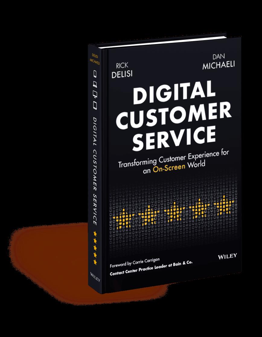 Digital Customer Service Book Dan Michaeli, Rick DeLisi