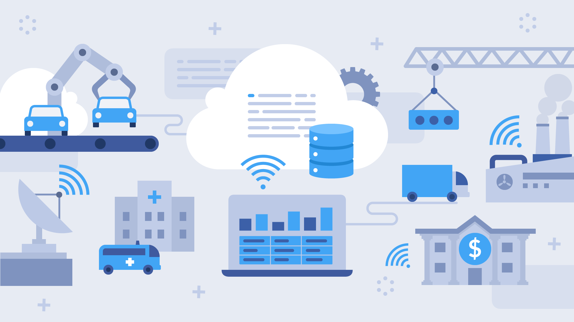 Top-10 industries that benefit from cloud solutions the most