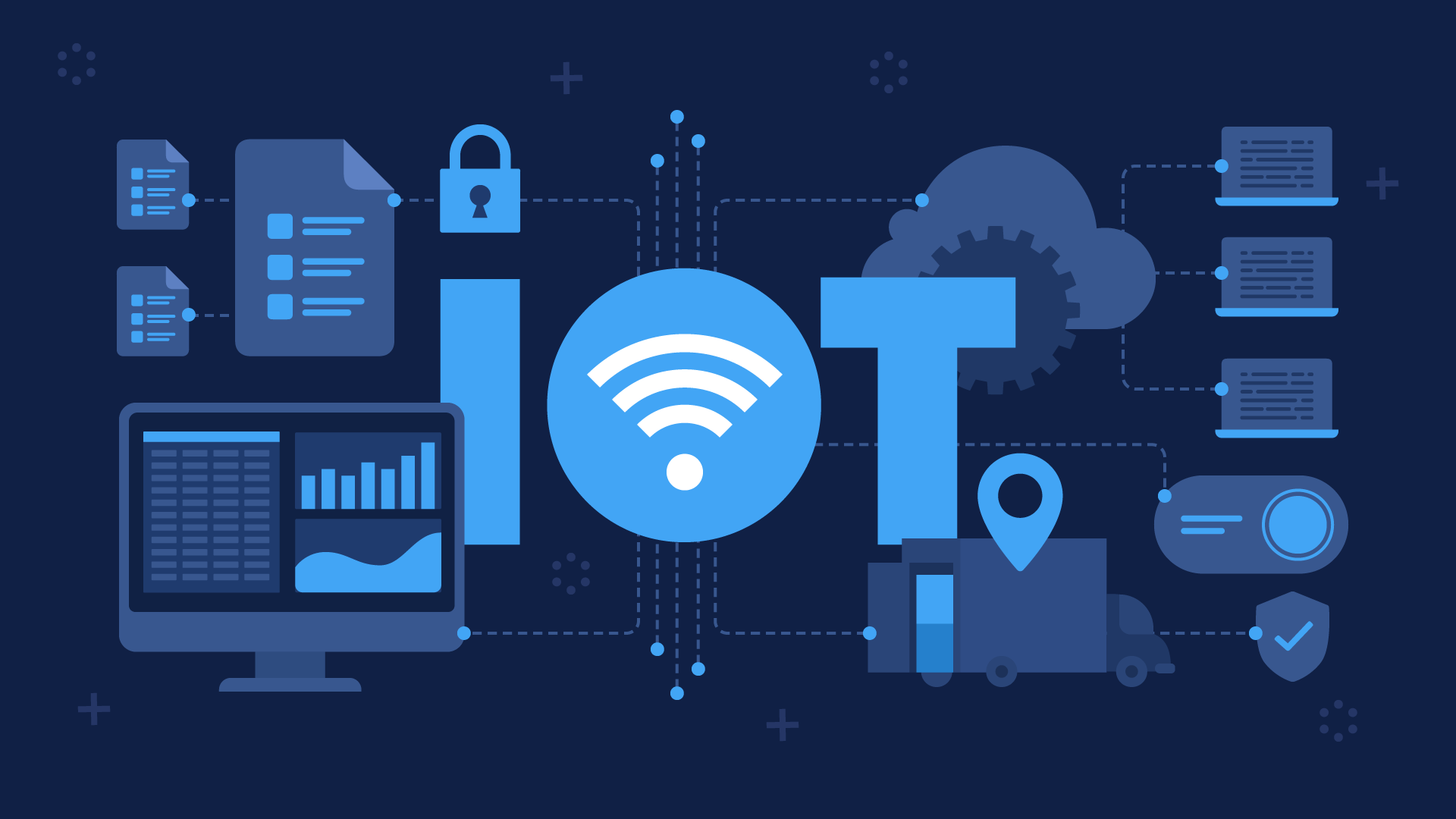 Applying IoT to transform business: top-10 cases