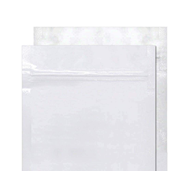 White/Clear Mylar Bags