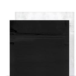 Black/Clear Mylar Bags