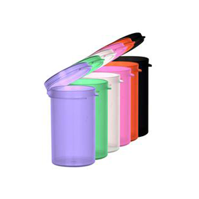 Hinged Lid Containers (6 dram)