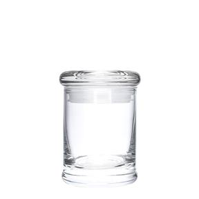 Glass Suction Cap Containers (2,4 oz)