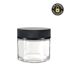 Glass CR Cap Containers (2,3,4 oz)