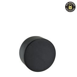 5ml Black Smooth Side CR Plastic Cap - 504 count