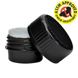 2 Dram Silicone CR Container- 100 count