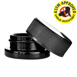 9ml Black Glass CR Container - 320 count
