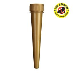 98mm Conical CR Pre-Roll Tube - 850 count