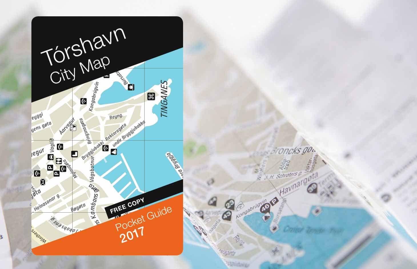 Tórshavnar City Map