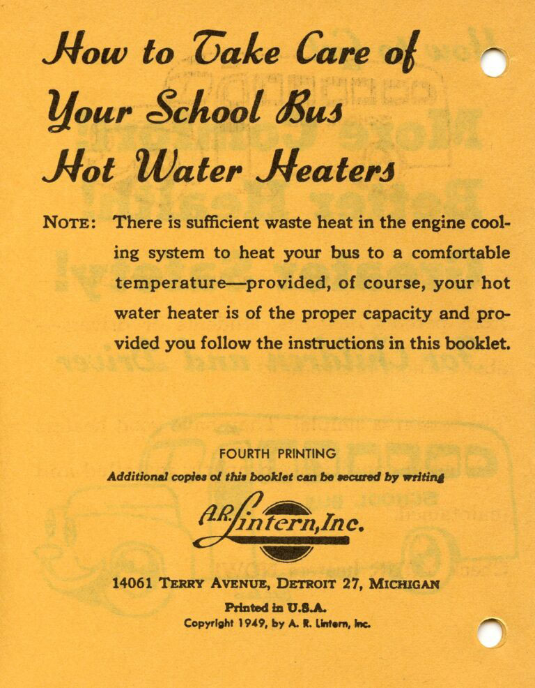1948 Promotional Pamphlet 2