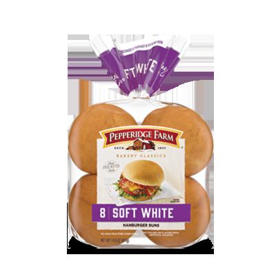 Pepperidge Farm® Soft White Hamburger Buns