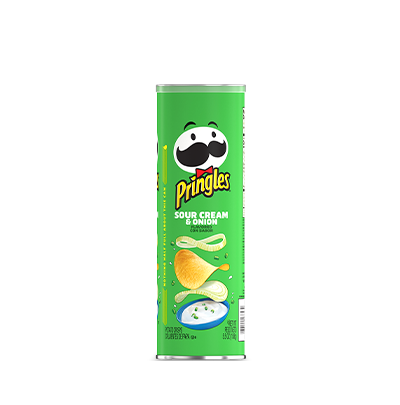 Pringles® Potato Crisps Chips Sour Cream & Onion
