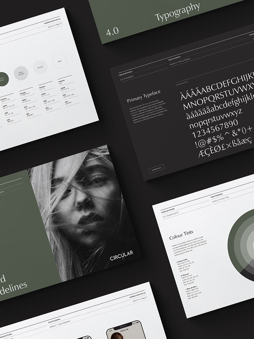 Odessa Brand Guidelines Template