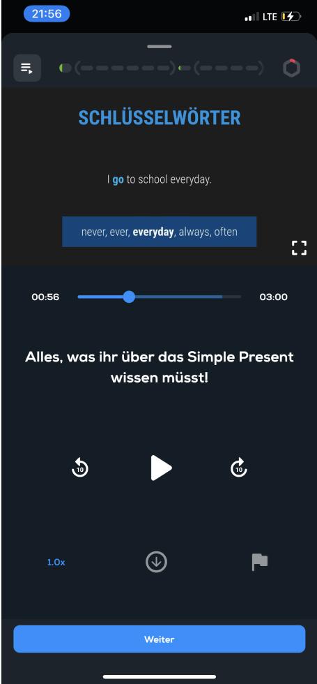 Simple Club Video Screen