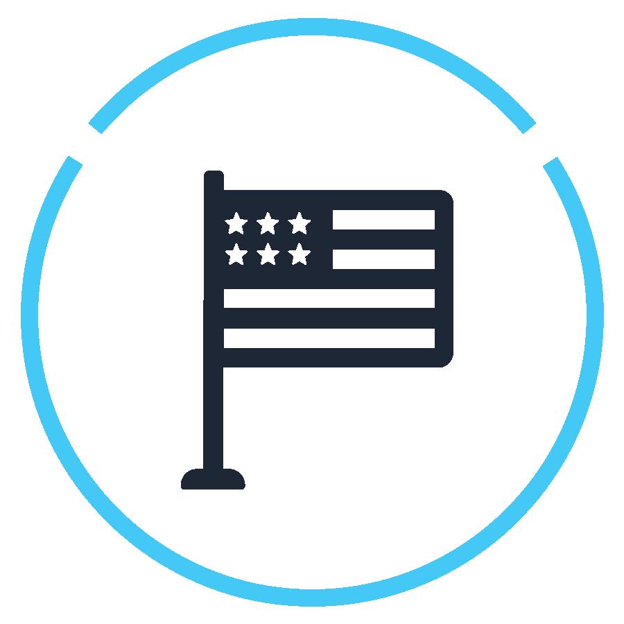 Icon - American flag