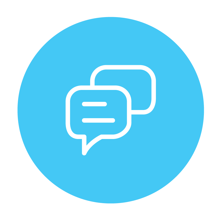 Icon - messaging graphic
