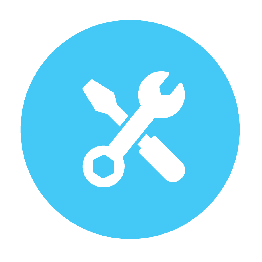 Icon - screwdriver and wrench