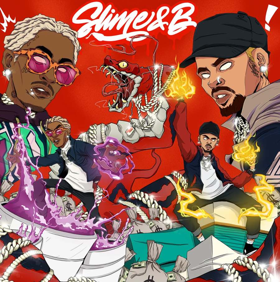 Chris Brown & Young Thug - Slime & B produced by The Audibles