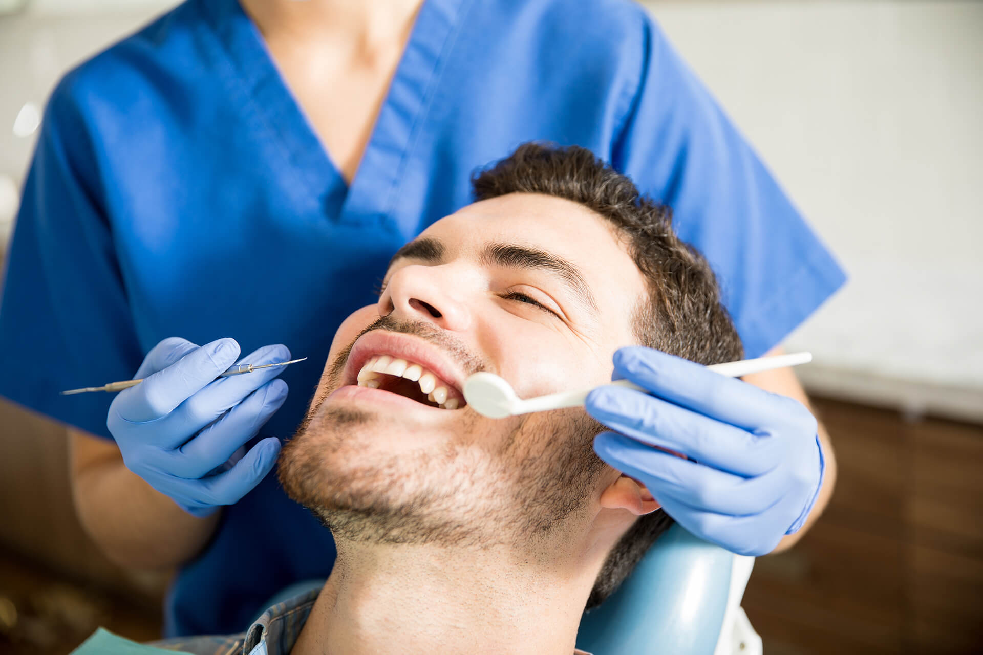 dental cleaning and exams
