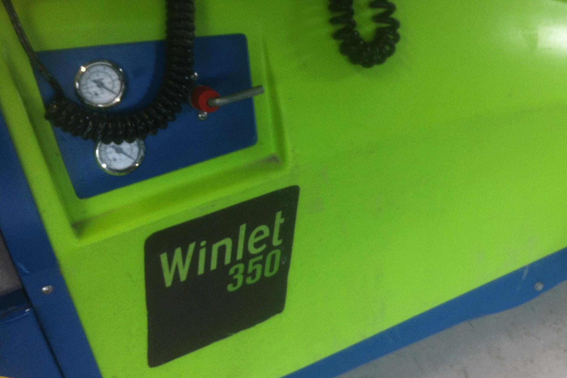 Ventura verhuur flyer: Compactkraan, Glasrobot en glaszuigers