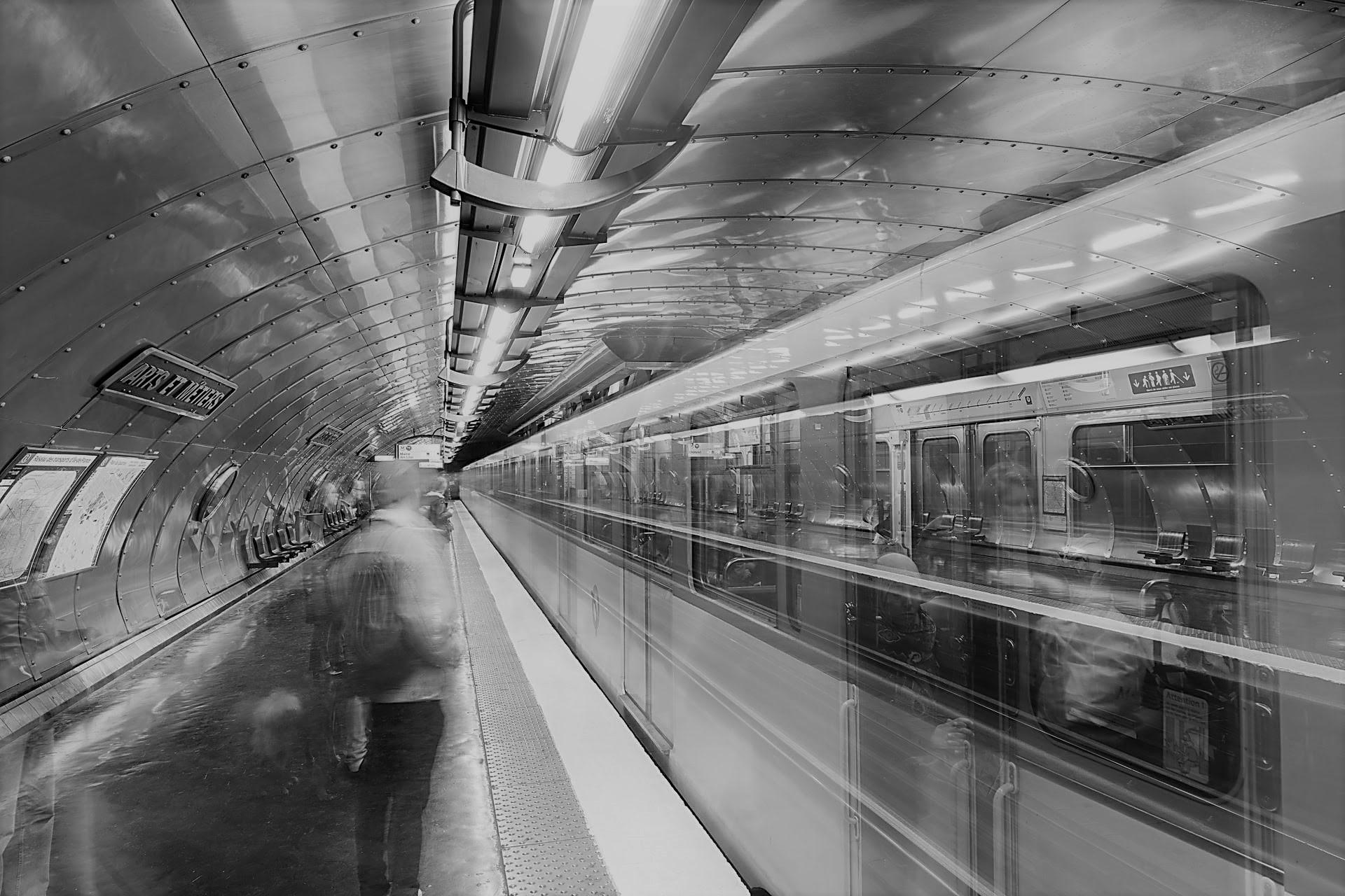 photo d'un usager dans les transports
