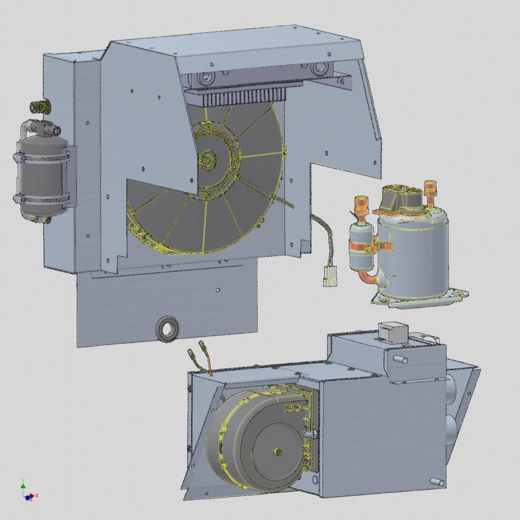 Electric HVAC System