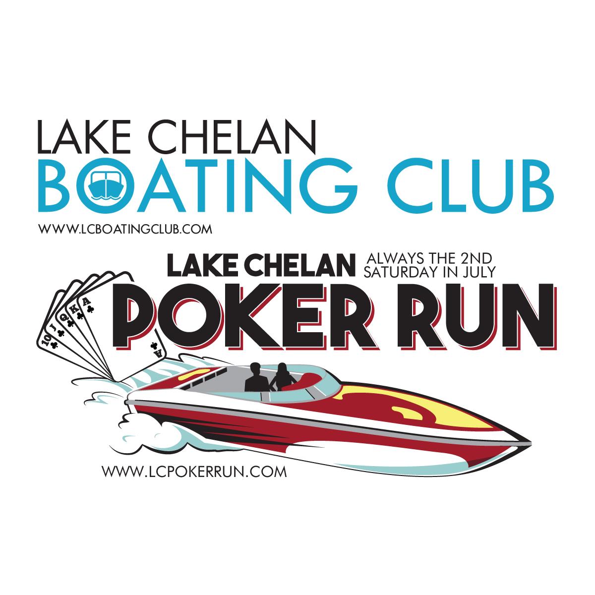 Lake Chelan BC Poker Run logo