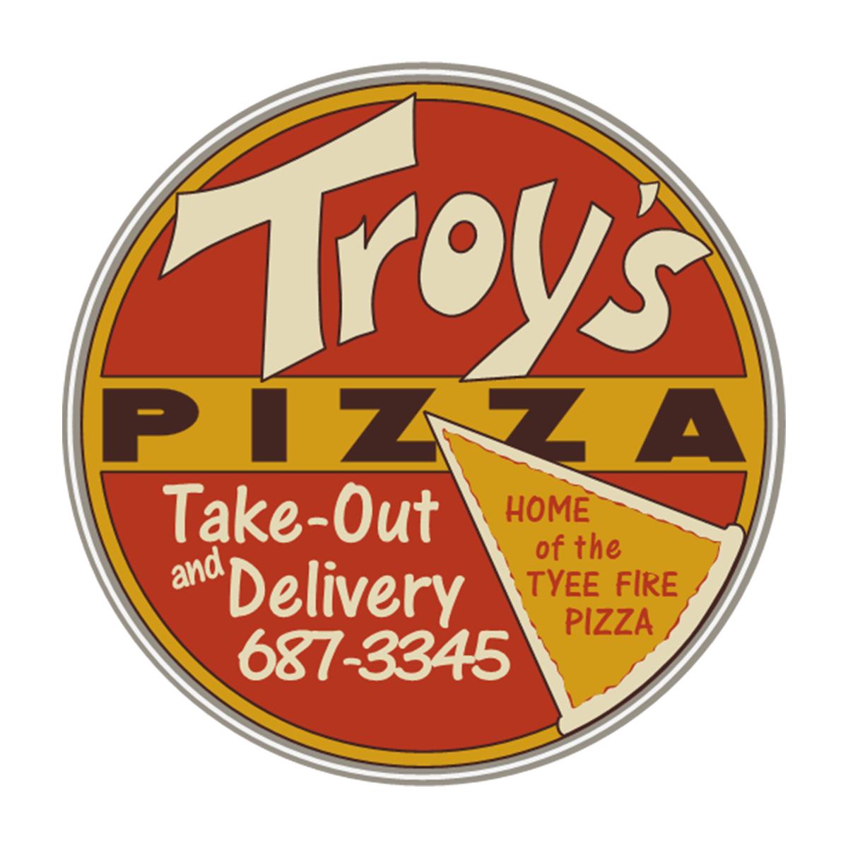 Troy's Pizza logo