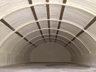 nissan hut foam insulation