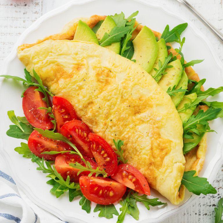 Avocado Omelettes