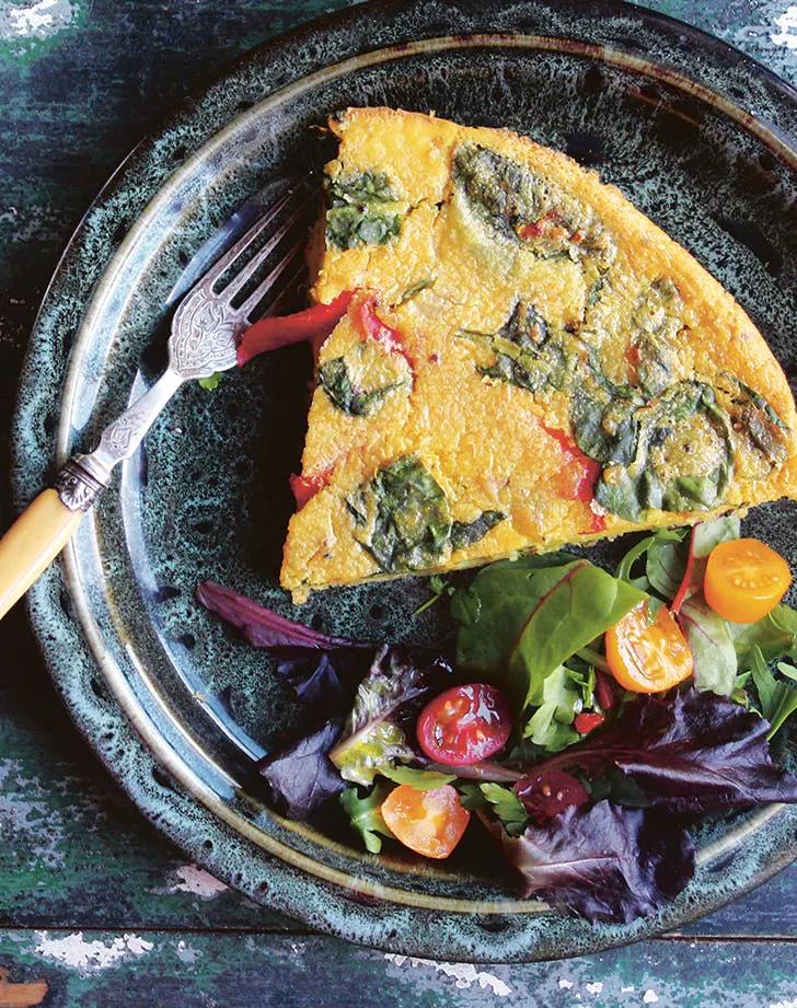 Vegan Quinoa Breakfast Frittata