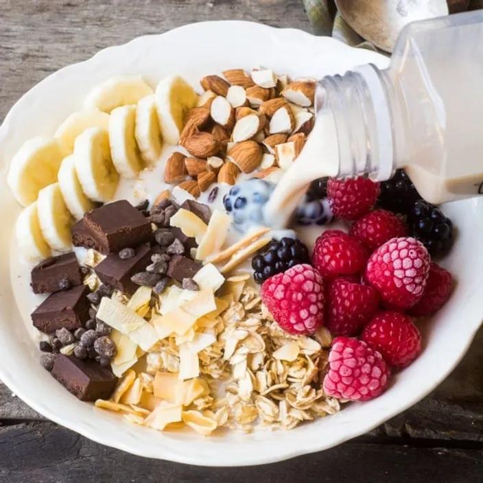 High Protein Vegetarian Breakfast